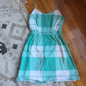 Mint green picnic dress